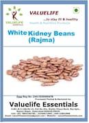 Value Life Kidney Beans Rajma (White, 1KG)