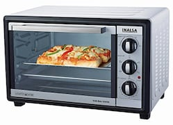 Inalsa Kwik Bake 28SFRC 28 L Oven Toaster Grill (Silver)