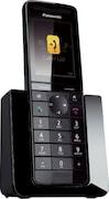 Panasonic KXPRS110 Cordless Landline Phone (Black)