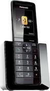 Panasonic KXPRS120 Cordless Landline Phone (Black)