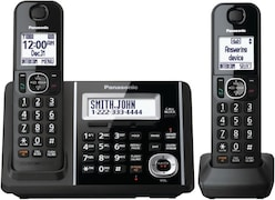 Panasonic KXTFG342B Cordless Landline Phone (Black)