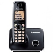 Panasonic KXTG3712SXB Cordless Landline Phone (Black)