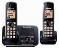 Panasonic KXTG3722 Cordless Landline Phone (Black)