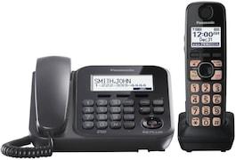 Panasonic KXTG4771 Corded Landline Phone (Black)
