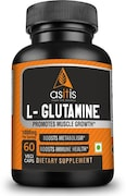 AS-IT-IS L-Glutamine Dietary Supplement (60 Capsules)