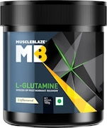 MuscleBlaze L-Glutamine (Unflavoured, 100GM)