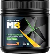 MuscleBlaze L-Glutamine (Fruit Punch, 250GM)