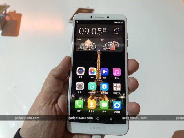 Gionee launches two full screen smartphones with quad cameras
