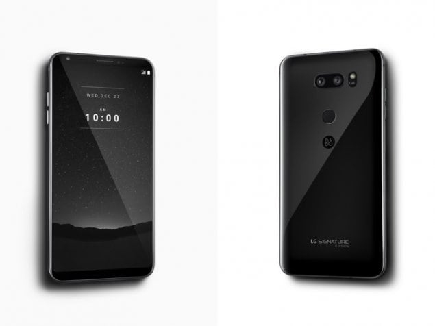 LG V30 Signature Edition unveiled with sleek ceramic body