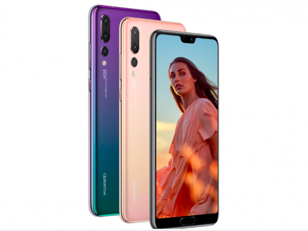 Huawei P20 users can choose to hide the phone's notch
