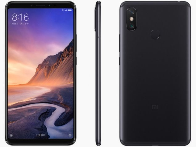 Mi Max 3 Price Specifications Features Comparison