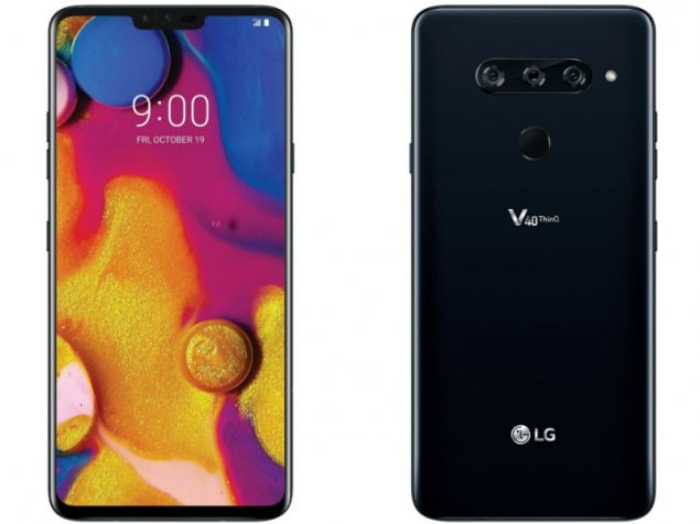 LG V40 ThinQ price in India