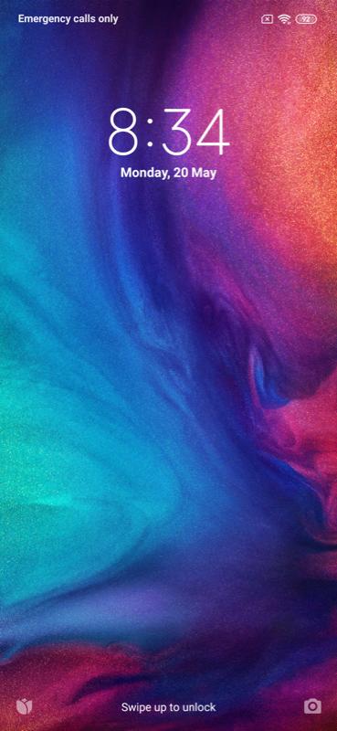 Redmi Note 7 UI Screenshots Images