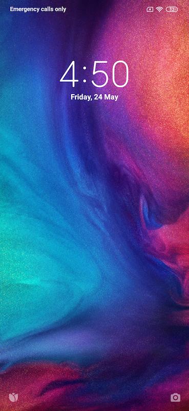 Redmi Note 7S UI Screenshots Images