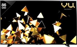 Vu 86 Inch LED Ultra HD (4K) TV (Pixelight HDR VU/C/PXUHD86)