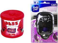 Ambi Pur Lavender Liquid Car Perfume And Freshener (7.5ML)
