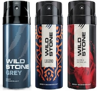 Wild Stone Legend Deodorant Spray (450ML, Pack of 3)