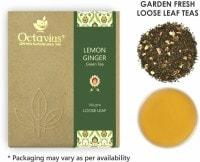 Octavius Lemon Ginger Loose Leaf Green Tea (100GM)