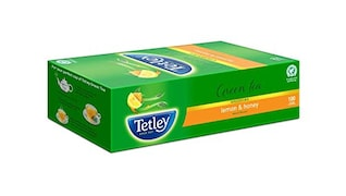 Tetley Lemon & Honey Green Tea (340GM, 100 Pieces)