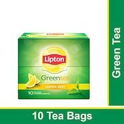 Lipton Lemon Zest Green Tea (13GM, 10 Pieces)