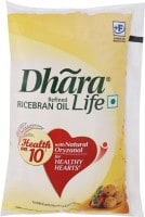 DHARA Life Refined Rice Bran Oil (1LTR)