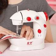 Fission LS02A448 Electric Sewing Machine (White)