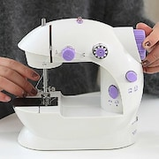 Fission LS02B7687 Electric Sewing Machine (White)