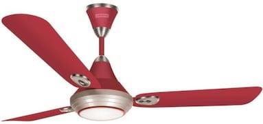 Luminous Lumaire Ceiling Fan (Red)