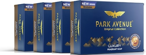 Park Avenue Luxury Soap (500GM, Pack of 4)