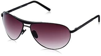 Fastrack M062BR3 Aviator Sunglasses (Brown, Free Size)