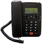 Beetel M57 Corded Landline Phone (Black)