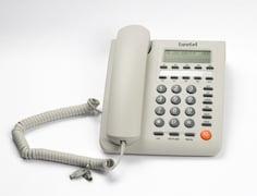 Beetel M59 Corded Landline Phone (White)