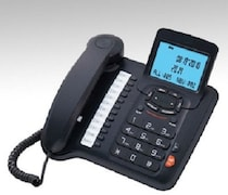 Beetel M91 Corded Landline Phone (Black)