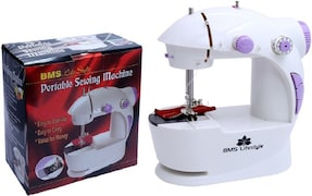 BMS Lifestyle Magic Electric Sewing Machine (White)