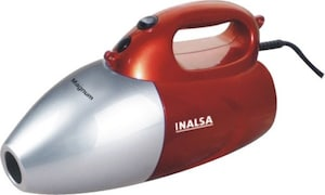 Inalsa Magnum Hand-Held Vacuum Cleaner (Red & Silver)