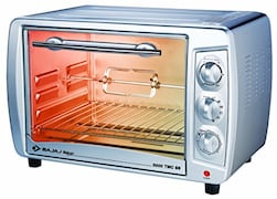 Bajaj Majesty 3500 TMCSS 35 L Oven Toaster Grill (Silver)