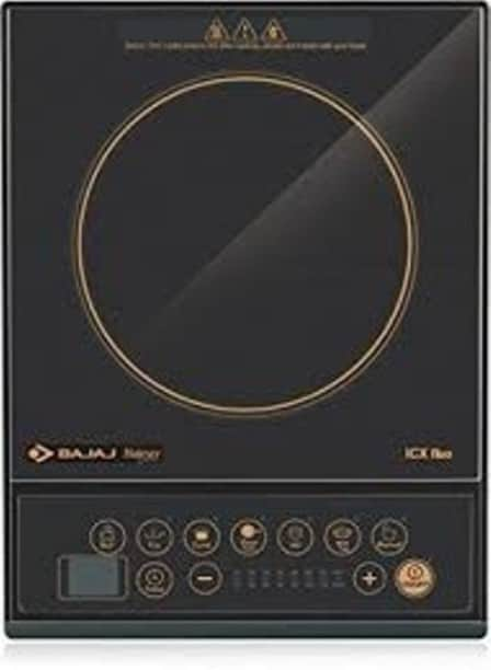 Bajaj Majesty ICX Neo 1600 W Induction Cooktops (Black)