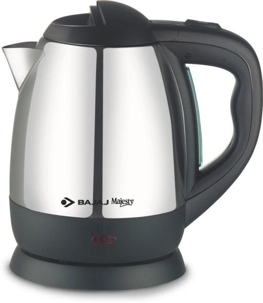 Bajaj Majesty KTX-11 1.2 L Electric Kettle (Silver)
