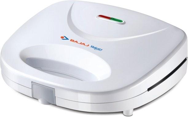 Bajaj Majesty SWX 400 Grill Sandwich Maker (White)