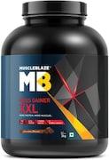MuscleBlaze Mass Gainer XXL (Chocolate, 3KG)