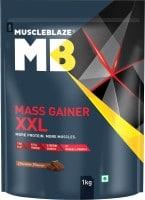 MuscleBlaze Mass Gainer XXL (Chocolate, 1KG)