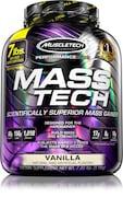MuscleTech Mass Tech Advanced Muscle Mass Gainer Dietary Supplements (Vanilla, 3.18KG)