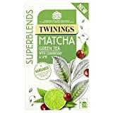 Twinings Matcha Green Fruit Tea (40GM, 20 Pieces)