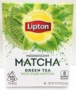 Lipton Matcha Green Tea (22.4GM, 15 Pieces)