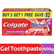 Colgate Max Fresh And Cooling Crystals Toothpaste (600GM)
