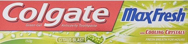 Colgate Max Fresh And Cooling Crystals Toothpaste (150GM, Pack of 4)