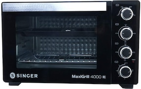Singer MAXIGRILL 4000 RC 40 L Oven Toaster Grill (Black)