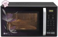 LG MC2146BP 21 L Convection Microwave Oven (Black)