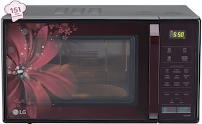 LG MC2146BRT 21 L Convection Microwave Oven (Black)