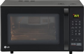 LG MC2846BG 28 L Convection Microwave Oven (Black)